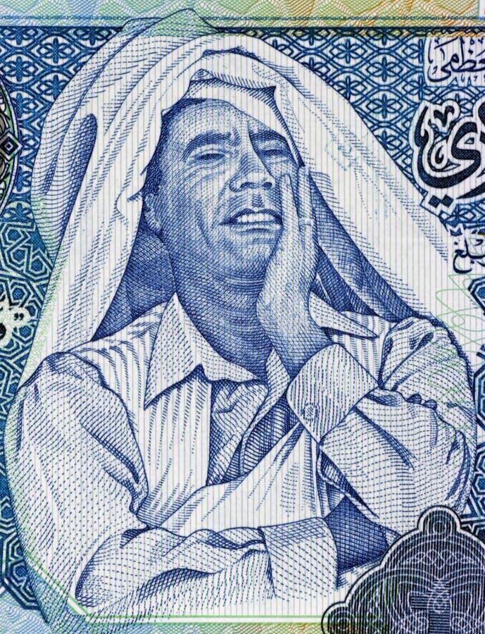 Muammar Gaddafi fotografia stock