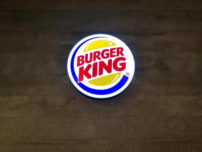 Muang, Nakhonratchasima/Thaïlande - 27 avril 2018 : Burger King image libre de droits