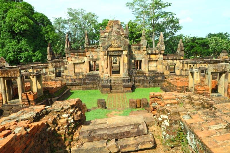 Muang Tam Castle stock images
