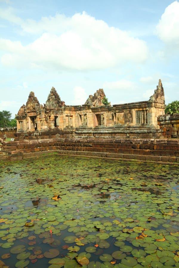 Muang Tam Castle stock image