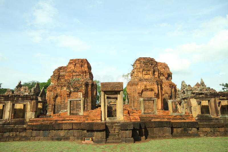 Muang Tam Castle royalty free stock photo