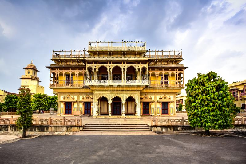 Jaipur City Palace, Rajasthan, India stock image