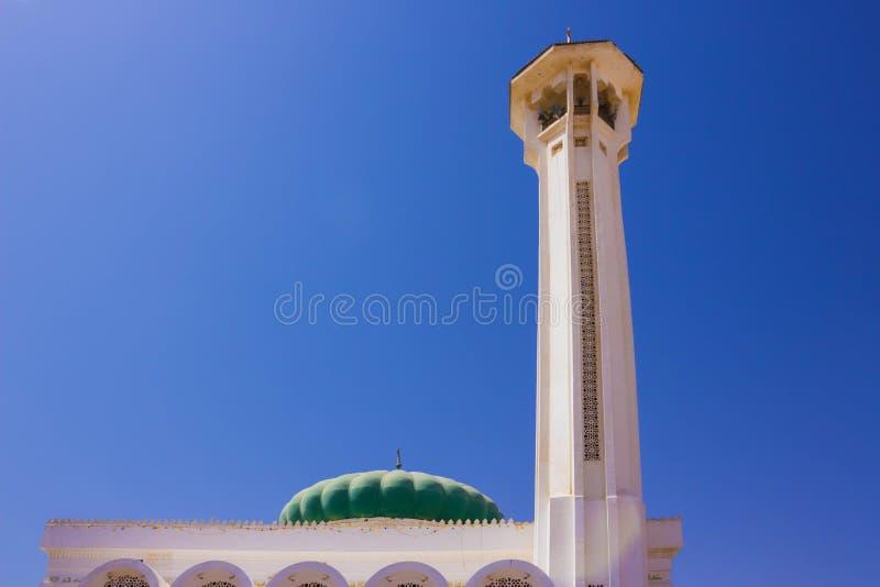 Mubarak Mosque, islamisch Egypt Große Moschee im Sharm-el-Sheikh stockfoto