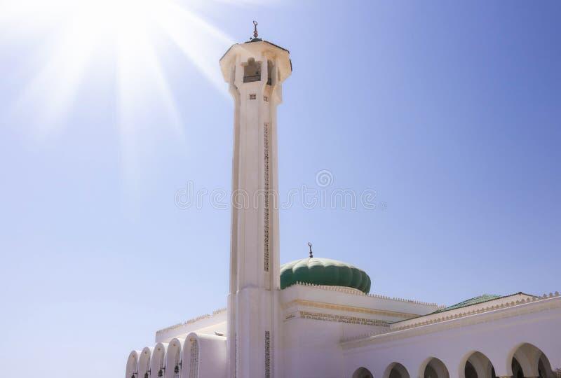 Mubarak Mosque, islamisch Egypt Große Moschee im Sharm-el-Sheikh lizenzfreie stockfotografie