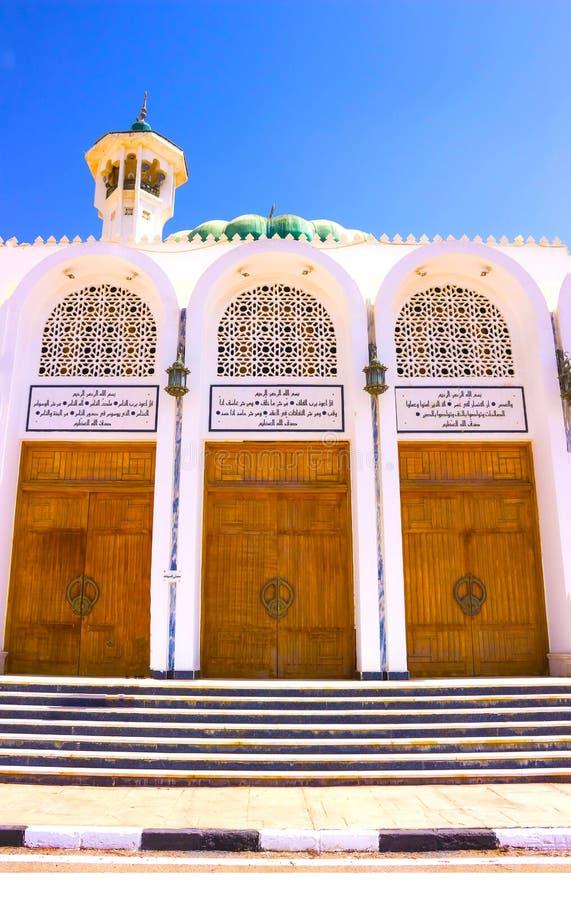 Mubarak Mosque, islamisch Egypt Große Moschee im Sharm-el-Sheikh lizenzfreie stockbilder