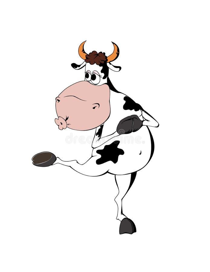 Download Mucca illustrazione vettoriale. Illustrazione di agricoltura - 7309984