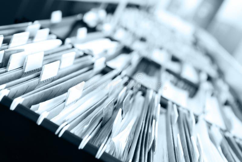Mucchi degli archivi fotografie stock