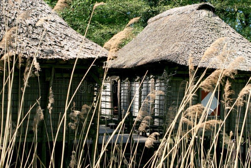 Mucchio-case del Benin fotografia stock libera da diritti