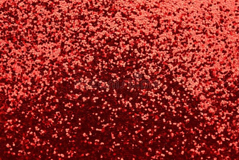 Mucchio degli scintilli rossi fotografia stock