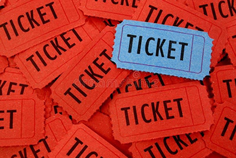 Mucchio dei biglietti immagini stock libere da diritti
