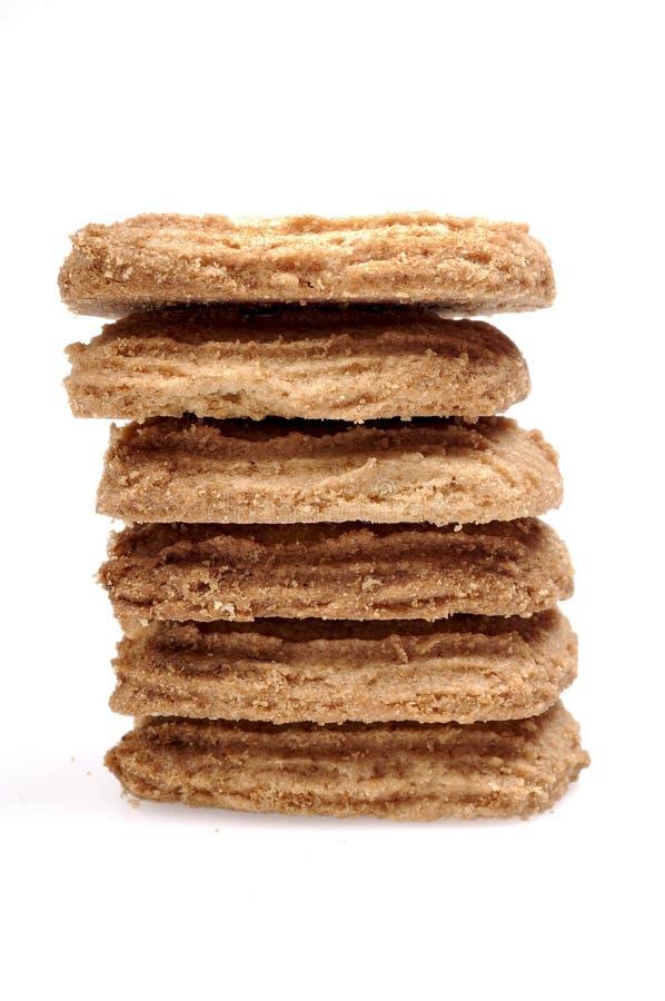 Mucchio dei biscotti immagini stock