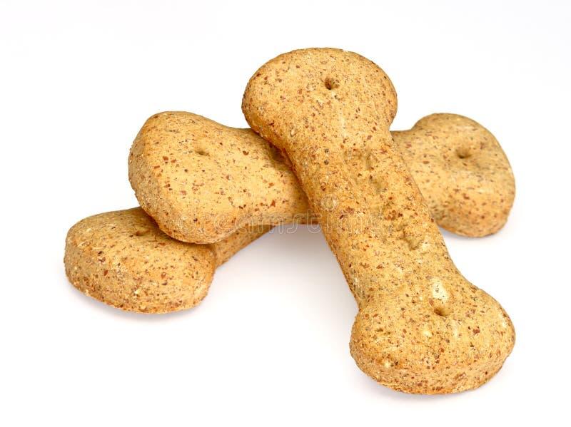 Mucchio dei biscotti di cane osso-a forma di immagine stock libera da diritti
