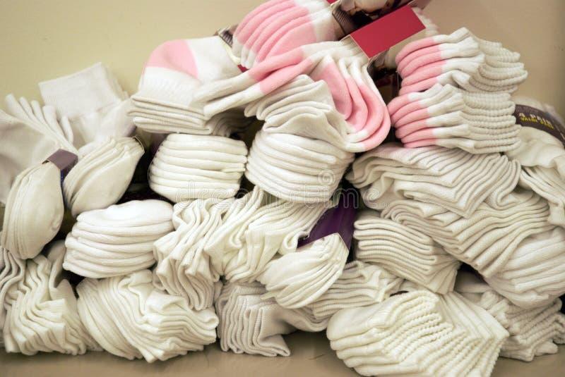 Mucchio dei calzini fotografia stock libera da diritti