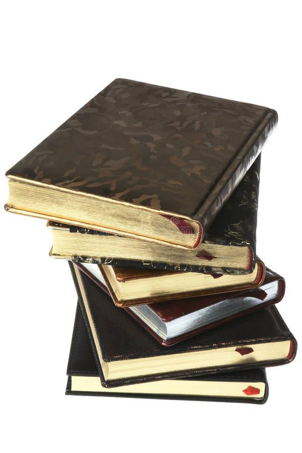 Mucchio dei libri cari fotografia stock libera da diritti