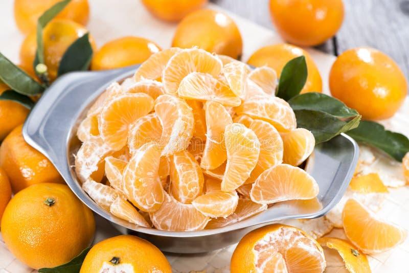 Mucchio dei mandarini freschi fotografia stock