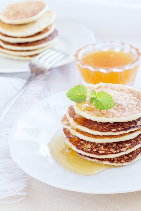 Mucchio dei pancake immagine stock