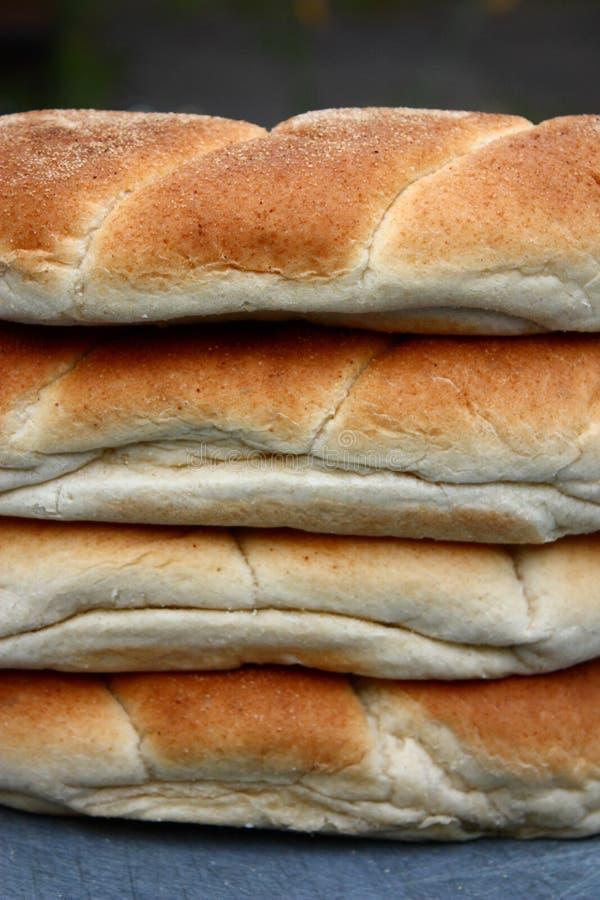 Mucchio dei rulli di pane. immagine stock libera da diritti