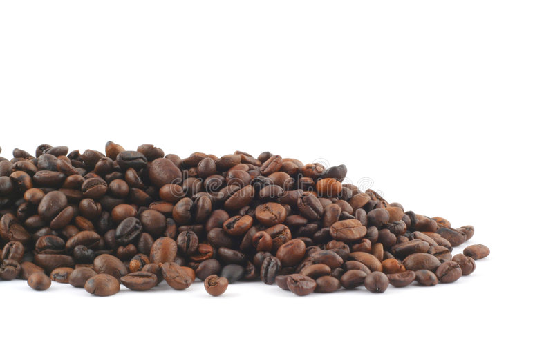 Mucchio del caffè fotografia stock libera da diritti
