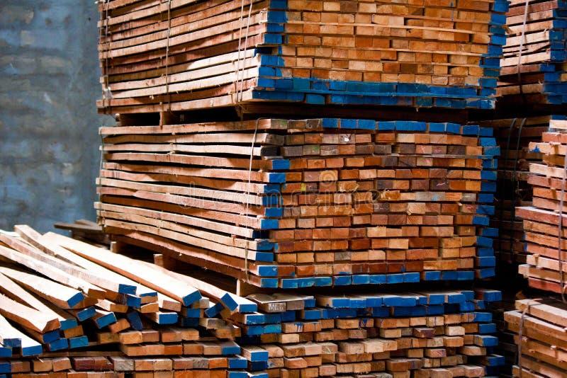 Mucchio del legname fotografia stock libera da diritti