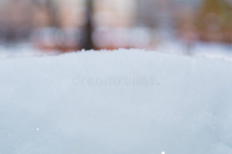 Mucchio della neve fotografia stock libera da diritti