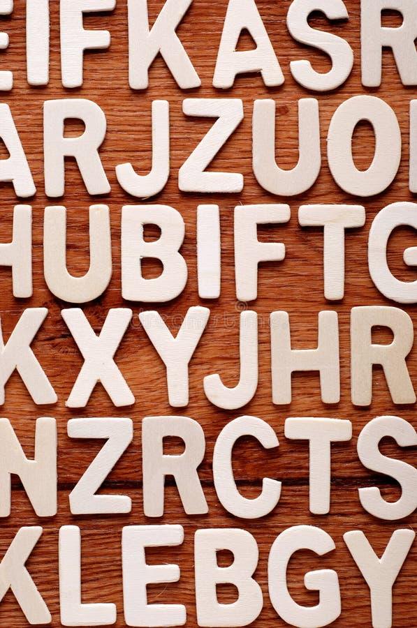 Download Mucchio delle lettere illustrazione di stock. Illustrazione di legno - 55364038