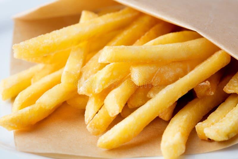 Mucchio delle patate fritte immagine stock