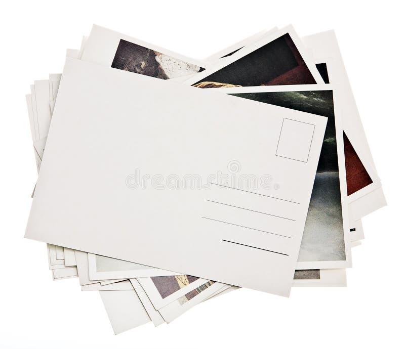 Mucchio delle schede variopinte fotografie stock