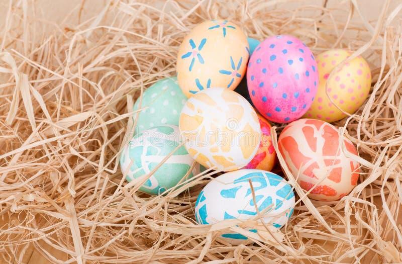 Mucchio delle uova di Pasqua immagine stock libera da diritti