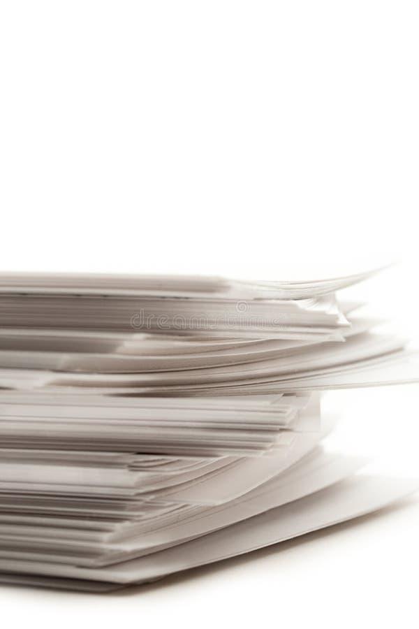 Mucchio di documento immagine stock libera da diritti