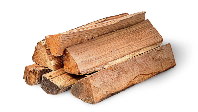 Mucchio di legna da ardere rotante fotografia stock libera da diritti