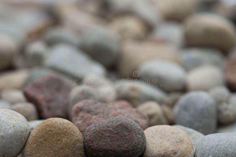 Mucchio di piccole pietre fotografia stock libera da diritti