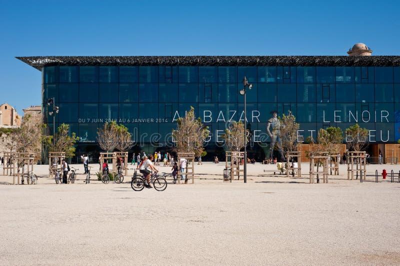 MuCem Marseille lizenzfreies stockbild