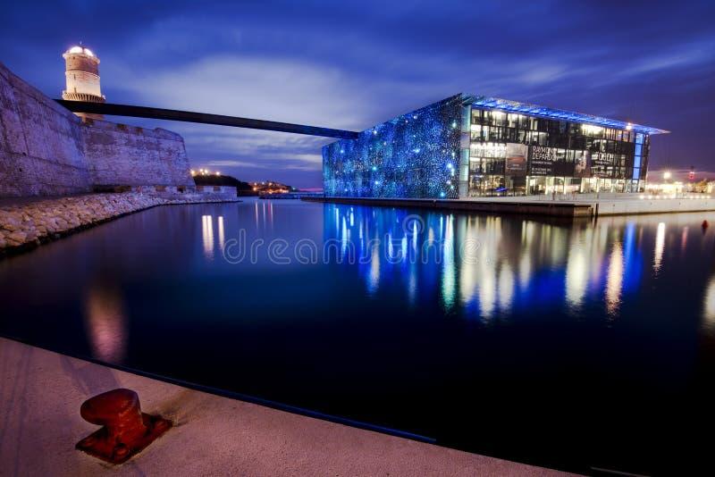 MUCEM, Marseille, Frankrijk royalty-vrije stock foto
