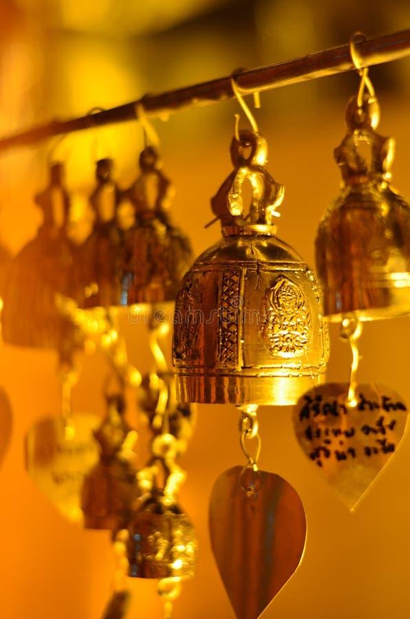 mucha pequeña campana del bhuddha imagen de archivo libre de regalías