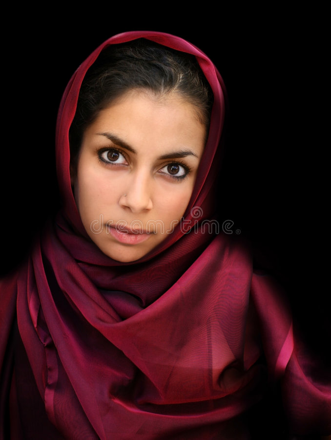 Muchacha árabe fotos de archivo