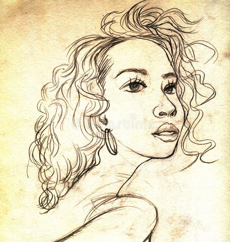 Muchacha libre illustration
