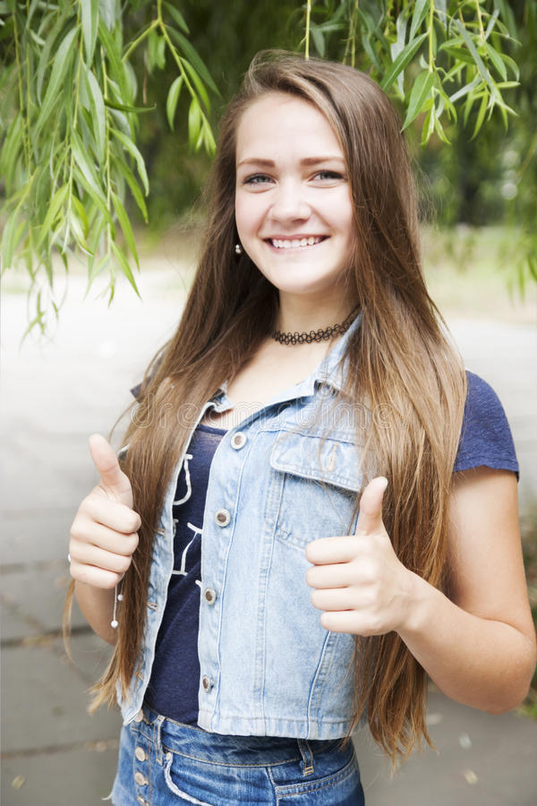Muchacha adolescente imágenes de archivo libres de regalías
