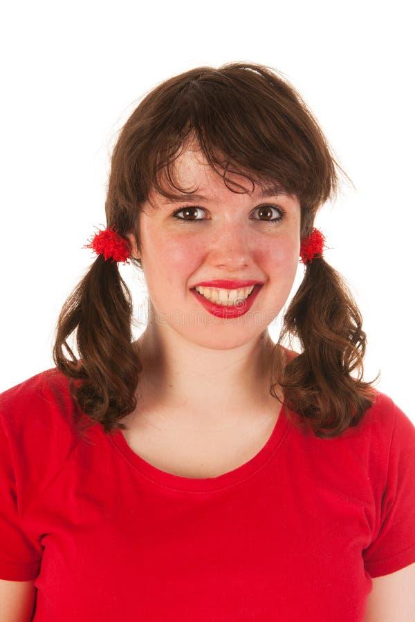 Muchacha adolescente del retrato imágenes de archivo libres de regalías