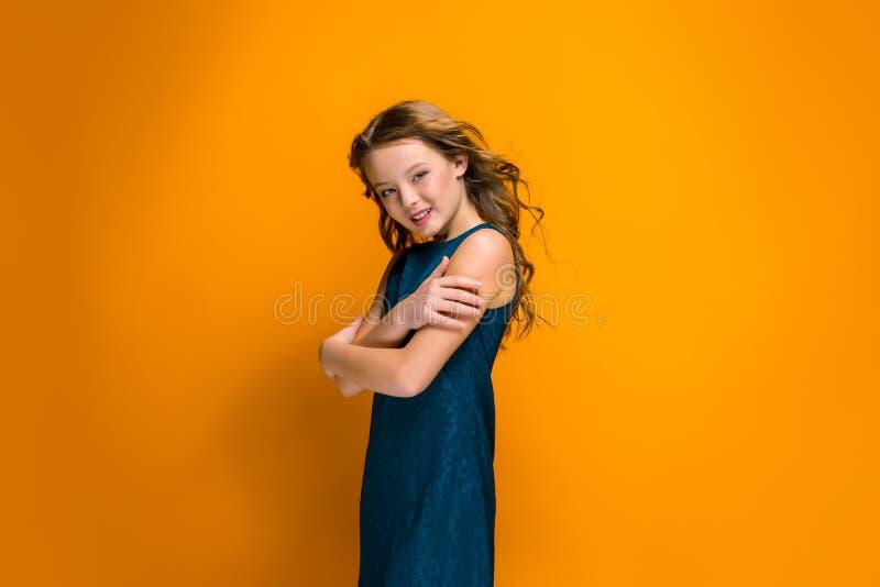 Muchacha adolescente feliz fotos de archivo libres de regalías