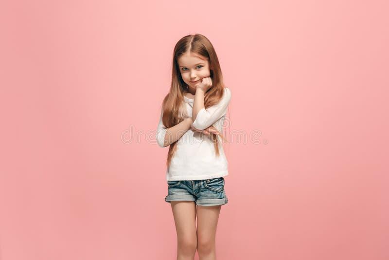Muchacha adolescente triste pensativa seria joven imagen de archivo libre de regalías