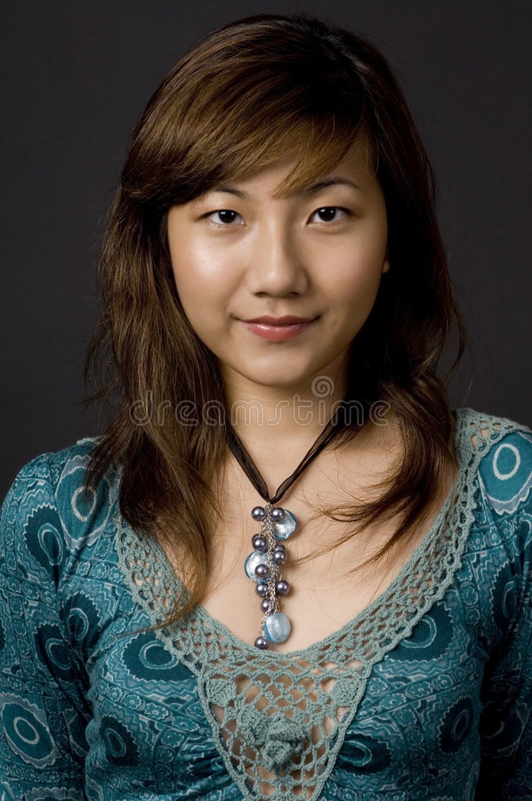 Muchacha asiática fotografía de archivo libre de regalías