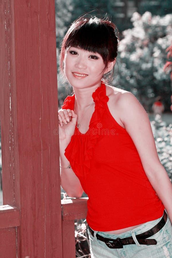 Muchacha asiática foto de archivo libre de regalías