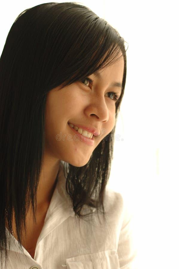 Muchacha asiática hermosa foto de archivo