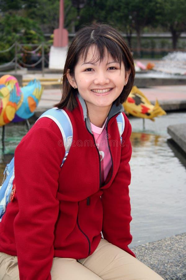 Muchacha china fotos de archivo
