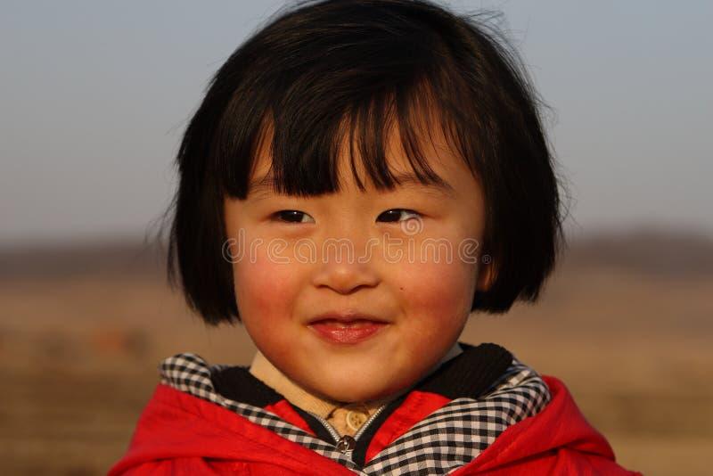 Muchacha china feliz fotos de archivo libres de regalías