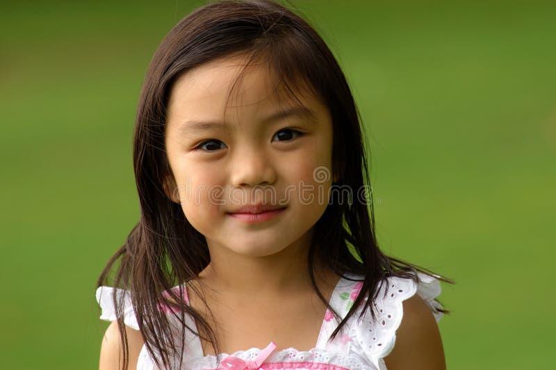 Muchacha china joven imagenes de archivo