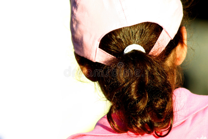 Muchacha Con El Sombrero Imagen de archivo libre de regalías