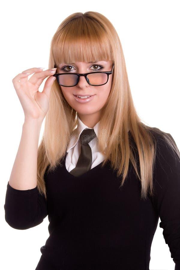 Muchacha con gafas foto de archivo libre de regalías