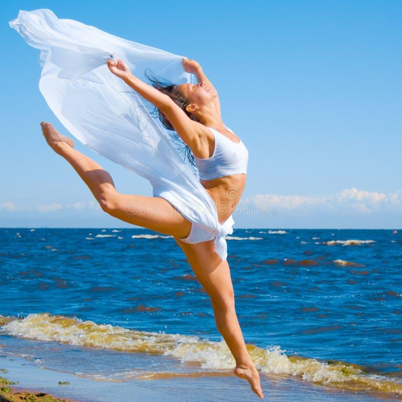 Muchacha de baile imágenes de archivo libres de regalías