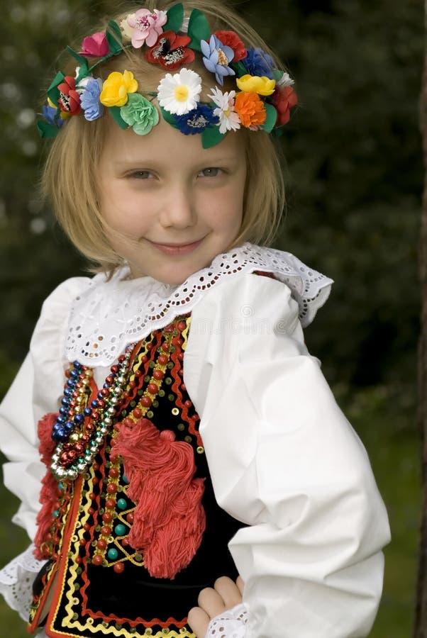 Muchacha de Cracovia fotografía de archivo libre de regalías